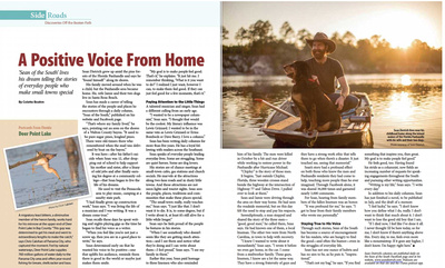 A Positive Voice From Home: Sean of the South story for Florida Currents
